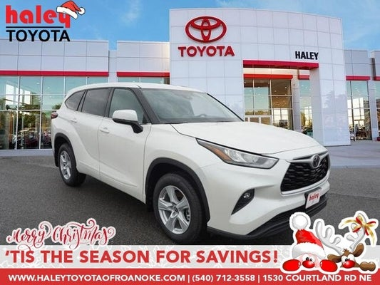 2020 Toyota Highlander Le In Roanoke Va Roanoke Toyota Highlander Haley Toyota Of Roanoke
